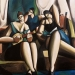1996_the_three_dilettantes_48x36_oil_on_canvas_1996