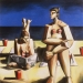 7_1995_two_women_in_the_sun_54x54_oil_on_canvas_1995