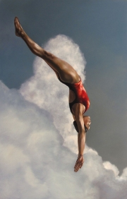 Red Diver - 38x60 - 2013