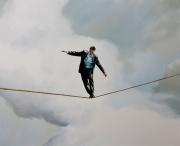 Man in Balance - 48x60 - 2012
